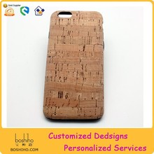 Cork smart phone cover for Iphone 6 cork case for iphone6