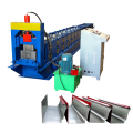 Hot sale steel seamless water rain gutter tube making roll forming machine for making gutters