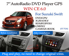 Wholesale price for suzuki swift car radio gps with GPS 3G DVD Radio BT! Christmas gift
