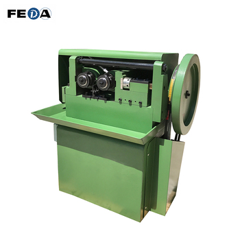 Small size thread rolling machine cam type thread making machine for bolts and nuts