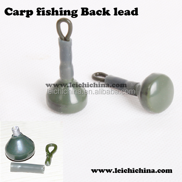 wholesale top quality carp fishing terminal tackle carp fishing back lead