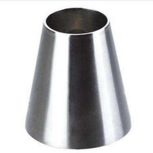 3A schedule 40 sanitary stainless steel pipe fitting socket clamp concentric reducer for dairy process