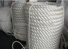 8mm braided polypropylene mooring rope