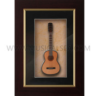 Wholesale photo frame with miniature guitar and picture frames for desk decoration