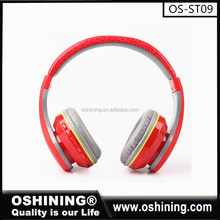Factory wholesale best quality wireless headset bluetooth sport headphones (OS-ST09)