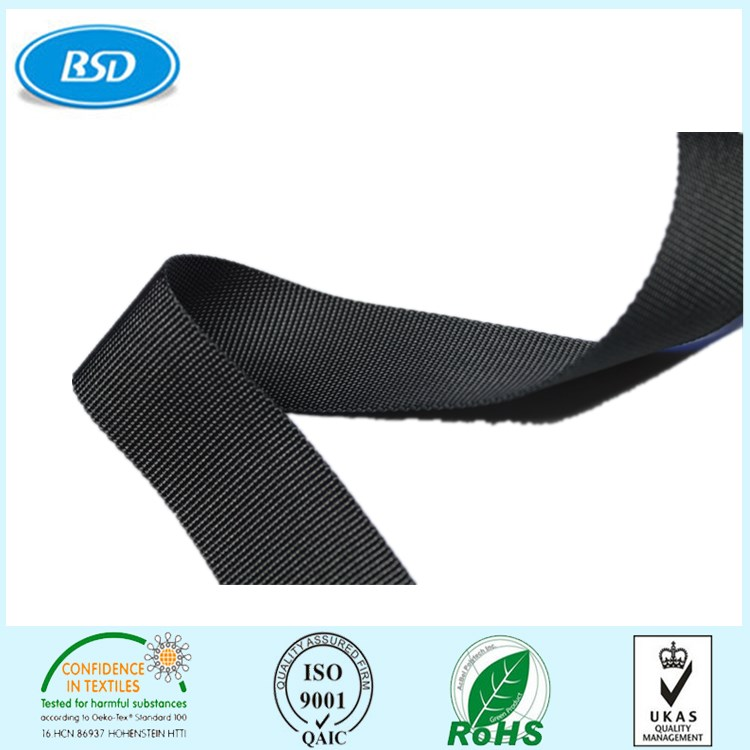 BSD New Design recycled webbing sling belt for bags/belt/coated/handbags/shoes