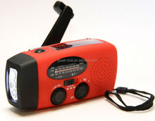 Multi Function Solar Dynamo NOAA Radio with FlashLight and mobile phone charger