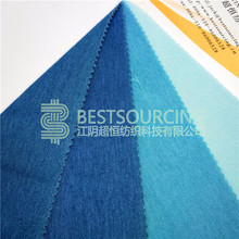 experienced manufacturer knit denim jeans fabric With LIGHT INDIGO/TWILL