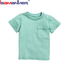2018 infant toddler clothes new design custom baby girl t-shirt