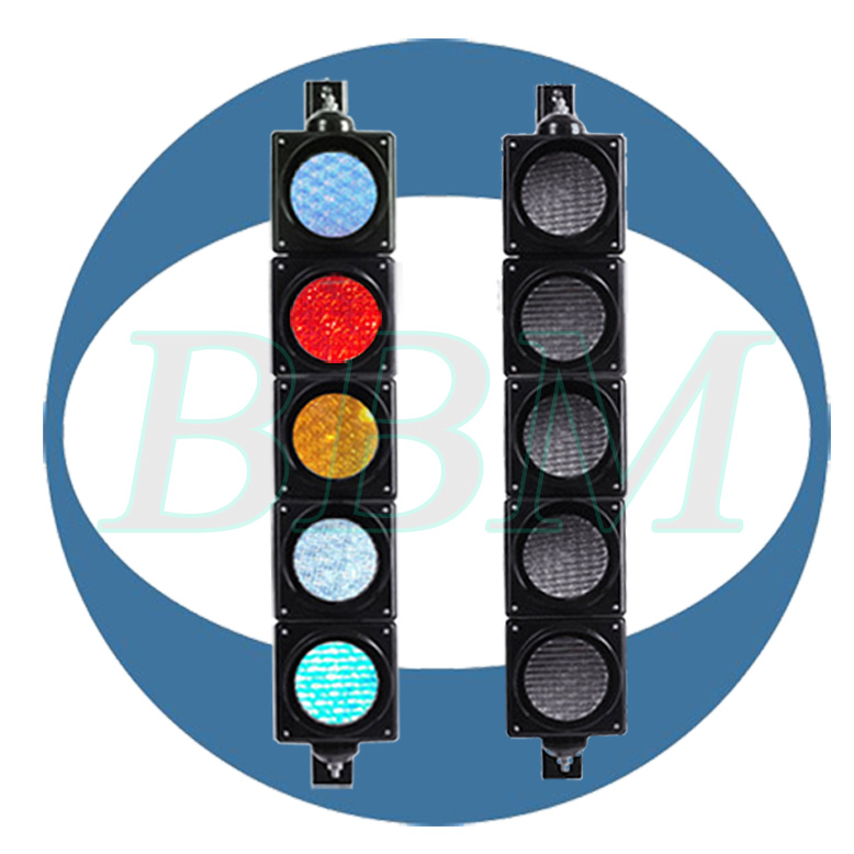 Road safety flare led traffic signal