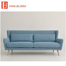 foshan living room high back fabric sectional sofa chair