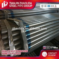 structural galvanized steel pipe hot dipped steel pipes prefab houses