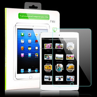 clear crystal tempered glass screen protector HD display for iPad Mini