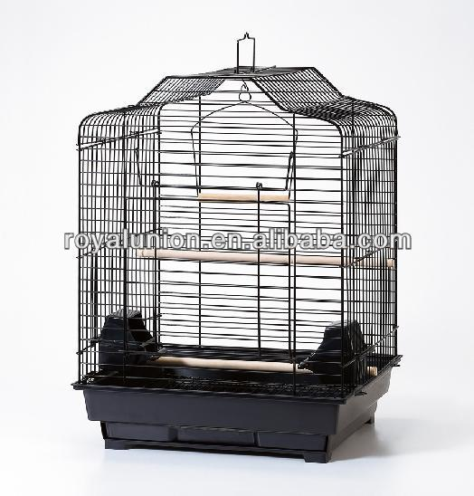 metal birdcage in modern style