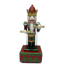 Christmas decoration soldier nutcracker hanging wood ornament