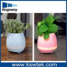 Smart Magic Music Flower Pot With Touch Singing Fuction And Bluetooth Speaker