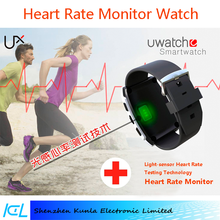 smart watch UX heart rate tracker bluetooth smart watch pedemoter sleeping monitor activity tracker sport health smart watch