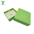 Excellent quality cardboard jewelry set gift box custom logo printing jewelry packaging box