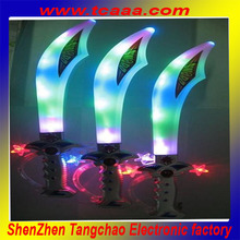 Best Selling Plastic Flashing LED Sword With Sound