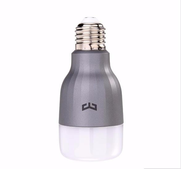 Original Xiaomi Yeelight Smart LED Bulb, Wifi Remote Control Adjustable Brightness Eyecare Light Smart Bulb WHITE COLOR
