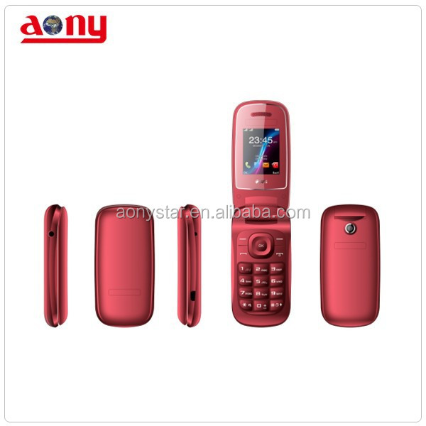 Best quality 1.77 inch small cute portable bluetooth mini flip mobile phone popular hot in south America