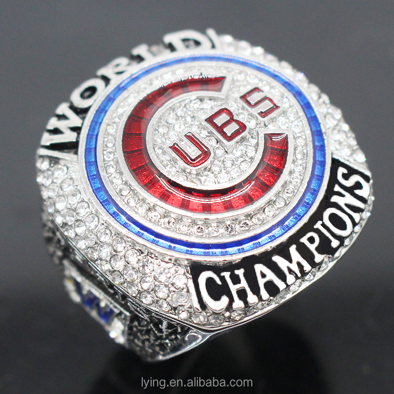 2016-2017MBL Major League Baseball Rings the championship Ring Chicogo Cubs Rings Fashion Personalized for men.