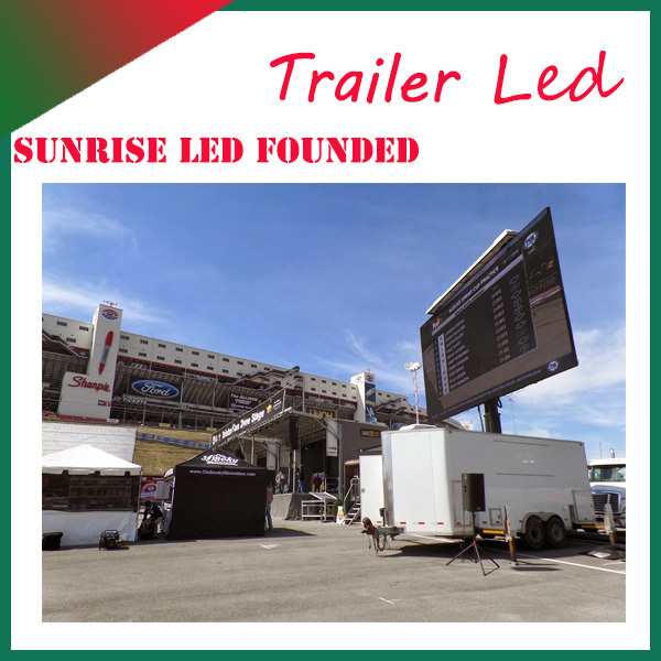 P10 truecolor led display truck, JAC led mobile truck for sale