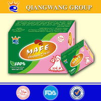 Chicken bouillon seasoning cube from Haccp certified company Qiangwang Group