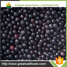 good price of IQF Frozen blueberry for sale in xiamen, also good quality frozen blueberry