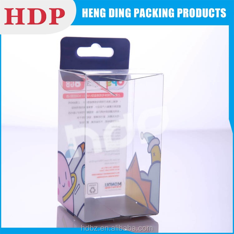 stackable recycled clear box packaging wholesale