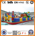FL-Good quality inflatable bouncy castle with water slide for sale