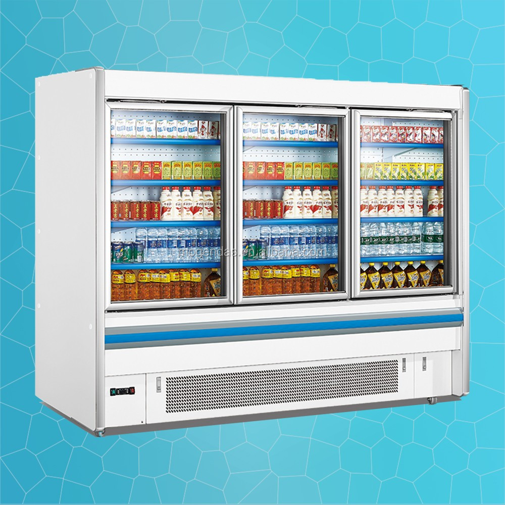 glass door cooler/glass door pepsi cooler