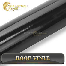 High Glossy Black Car Roof Film Outdoor Sticker Paper