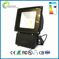 Outdoor waterproof IP65 AC85-285V Mean Well Driver 100W LED Flood light