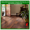 Click lock pvc vinyl wood look floor with uv coating
