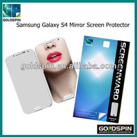 Manufacturer! Perfit Fit For Samsung Galaxy S4 Mirror Screen Protector With Retail Package