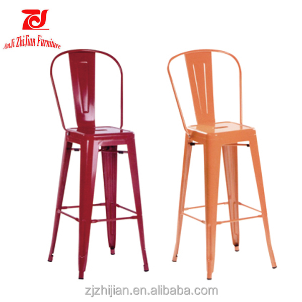 Metal Chair/Popular Cheaper Price chair/Restaurant vintage Industrial metal dining chair ZJT7