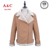 Qualitied Khaki Ladies Fur Lined Pilot Jacket