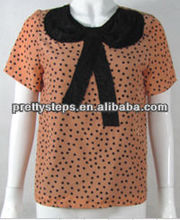 2013 Pretty Steps poly CDC /lace top selling products 2013
