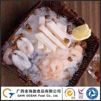 Seafood manufacturer provides frozen fresh seafood mix frozen fish