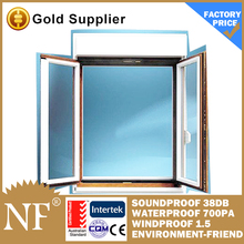 aluminium wooden casement window