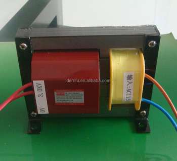 3000V, 16mA high voltage transformers for Electric Mosquito Fly Bug Insect Zapper Killer With Trap Lamp ,www.dernfu.com
