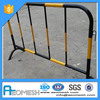 AEOBARRIER Removable feet road barrier,mental barrier,temporary fence on road for sale