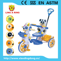 POPULAR AND HOT SALE BABY TRICYCLE WITH MUSIC AND PUSHBAR AND CANOPY