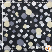 OEM service latest hot selling cotton dots printed fabric