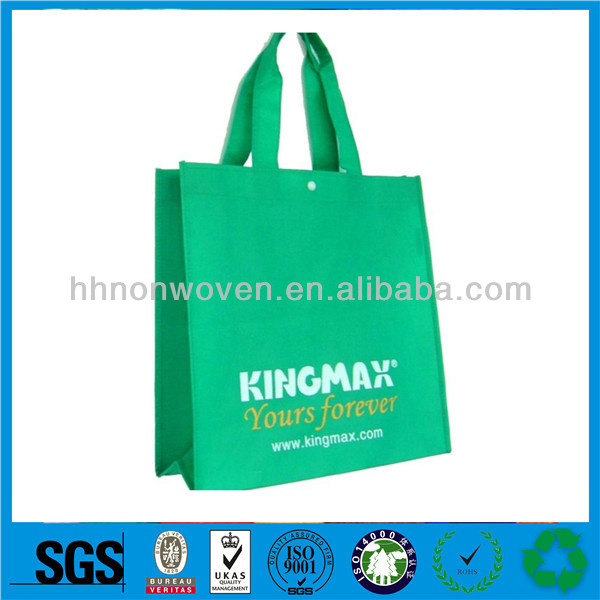 Wholesale 100gsm non woven shopping tote bag cut cartoon foldable shopping bag