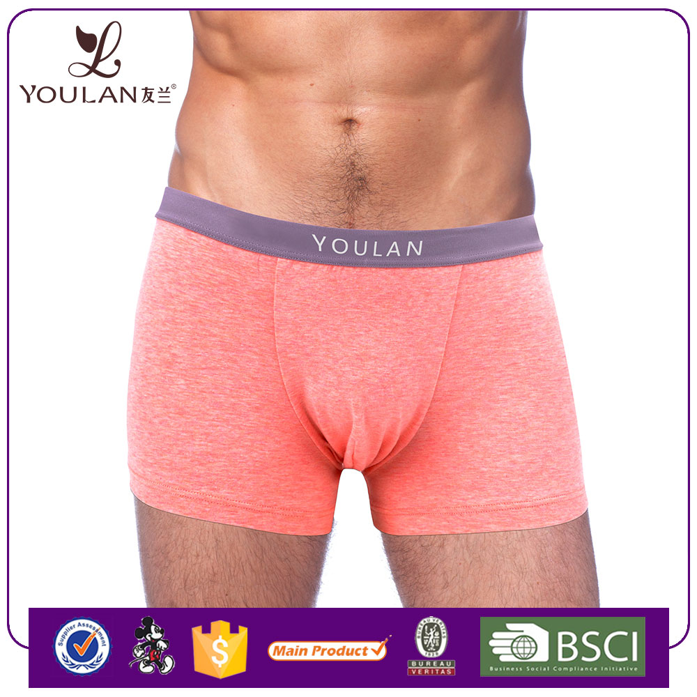 custom made embroidered logo sport style underwear men boxer shorts