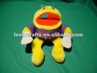 Rare Knickerbocker Pac-Man Score Plush Toy