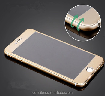 3D Mobile Phone Screen Protective Film In 9H Hardness 0.33mm Tempered Glass