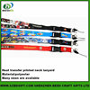China Supplier Neck band and lanyards with buckles